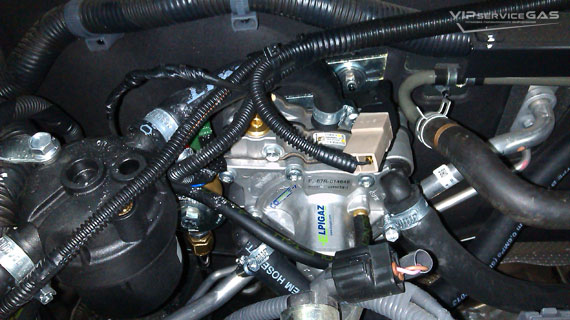 Гбо на Toyota Avensis 1.8