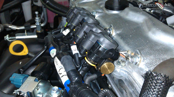 Газ на Toyota Avensis 1.8
