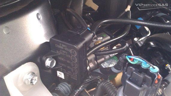 Гбо на Toyota Corolla 1.3