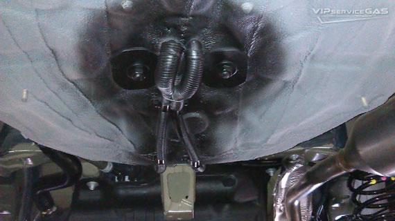 Газ на Тойота Королла 1.3
