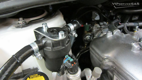 Гбо на Toyota Corolla 1.6