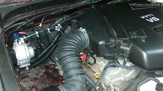 Гбо на Toyota FJ Cruiser 4.0