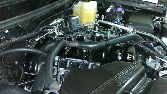 Газ на Toyota Land Cruiser 200 V8 4.6