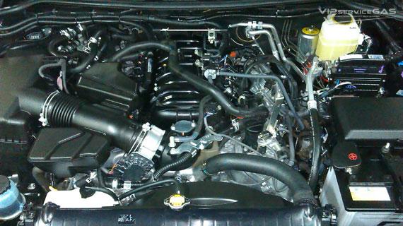 Газ на Тойота Ленд Крузер 200 4.6