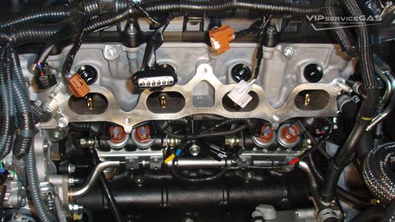 Газ на Toyota Land Cruiser Prado 2.7