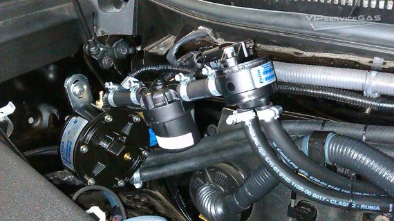 Установка гбо на Toyota Land Cruiser Prado V6 4.0
