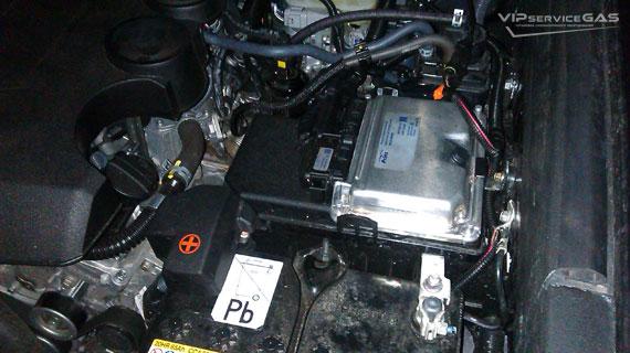 Установка гбо на Toyota Land Cruiser Prado 4.0
