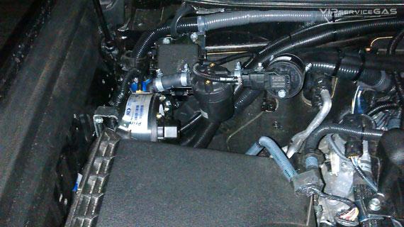 Газ на Toyota Land Cruiser Prado 4.0