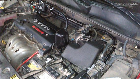 Установка гбо на Тойота РАВ4 2.0