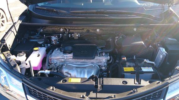 Гбо на Тойота РАВ4 2.0