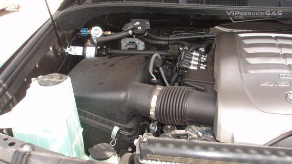 Газ на Тойота Тундра 4.6
