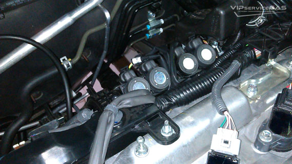 Гбо на Toyota Venza 2.7