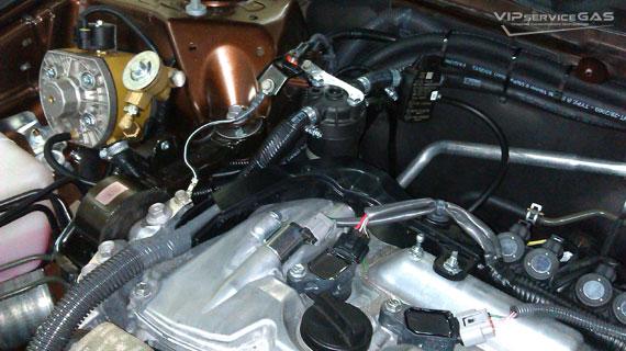 Установка гбо на Toyota Venza 2.7