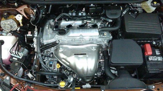 Газ на Тойота Венза 2.7
