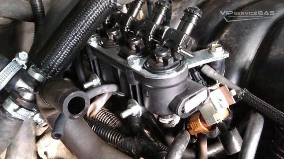 Установка гбо на Toyota Land Cruiser 200 4.6