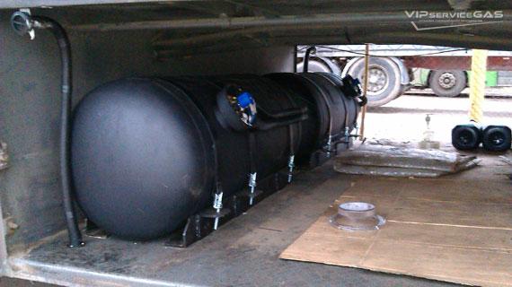 Установка гбо на Volvo B10M