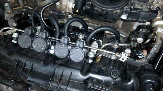 Установка гбо на Volkswagen Passat B6 1.8