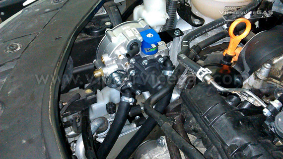 Гбо на Volkswagen Passat B6 1.8