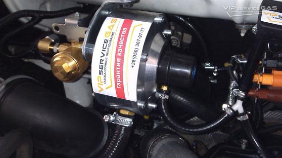 Газ на Volkswagen Transporter T5