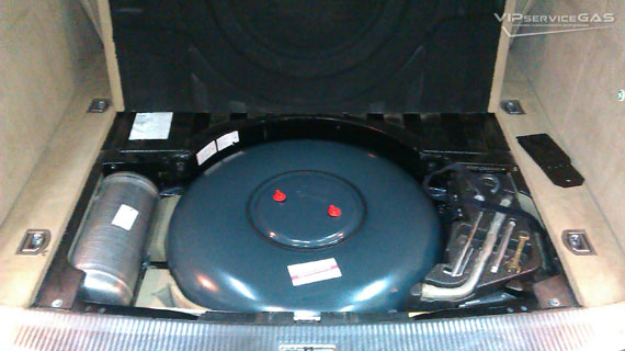 Гбо на Volkswagen Touareg V6 3.2